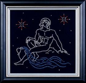 Набор для вышивки бисером Водолей Магия канвы БГ-004 МК - 102.00грн.