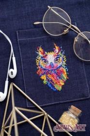 Набор для вышивки крестом на одежде Совушка-малышка Абрис Арт АНО-010 - 115.00грн.