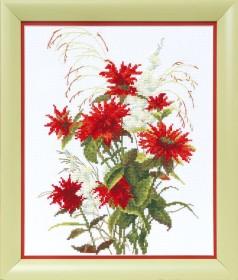 Набор для вышивки в смешанной технике Красная рута Cristal Art ВТ-1020 - 185.00грн.