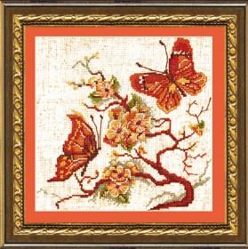Набор для вышивания в смешанной технике Бабочки Чарiвна мить (Чаривна мить) №182 - 99.00грн.