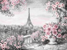 Набор для выкладки алмазной мозаикой Красота Парижа