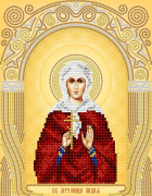 Схема для вышивки бисером на атласе Св. Мученица Лидия