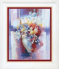 Набор для частичной вышивки крестом Цветение, , 355.00грн., РК-115, Чарiвна мить (Чаривна мить), Цветы