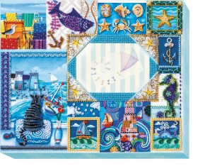 Набор для вышивки бисером Фоторамка Песенка про море Абрис Арт АР-002 - 516.00грн.