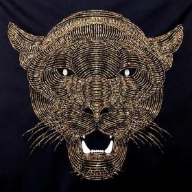 Набор для вышивки бисером на габардине Улыбка пантеры Миледи НЮ-042 - 662.00грн.
