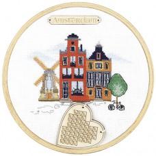 Набор для вышивки крестом Амстердам Чарiвна мить (Чаривна мить) М-305