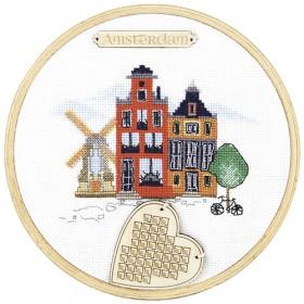Набор для вышивки крестом Амстердам Чарiвна мить (Чаривна мить) М-305 - 261.00грн.