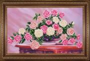 Набор для вышивки бисером Садовые розы
