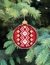 Набор для вышивки нитками Новогодняя игрушка Праздничная пора Чарiвна мить (Чаривна мить) Т-14