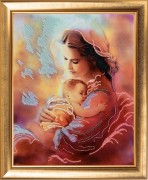 Набор для вышивки бисером Материнская любовь