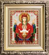Набор для вышивки ювелирным бисером Икона Божьей Матери Неупиваемая чаша