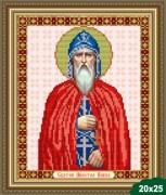 Рисунок на ткани для вышивки бисером Святой Павел