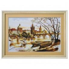 Набор для вышивки крестом Прага Карлов мост