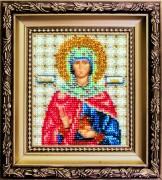 Набор для вышивки бисером Икона святая праведная Иоанна (Жанна, Яна)