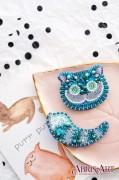 Набор для вышивки украшения Чеширский Кот