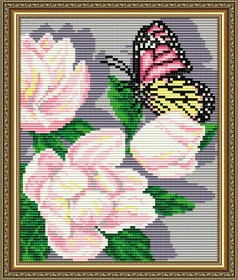 Набор для выкладки алмазной мозаикой Магнолии Триптих Часть 3 Art Solo АТ5562 - 280.00грн.