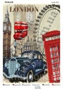 Схема вышивки бисером на атласе Лондон