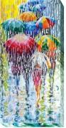 Набор для вышивки бисером на холсте Весёлые зонтики