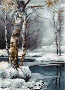 Набор для вышивки крестом Зима