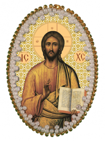 Набор для изготовления подвески Христос Спаситель Zoosapiens РВ3205 - 135.00грн.