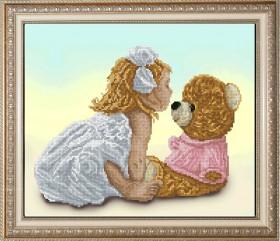 Набор для вышивки крестом Моя подружка Маша 1, , 238.00грн., 10414, Краса и творчiсть, Иконы