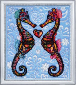 Набор для вышивки бисером Морские коньки Баттерфляй (Butterfly) 647 - 348.00грн.