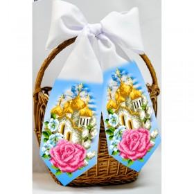 Пасхальнаый бант для вышивки бисером  Biser-Art В24018 - 50.00грн.