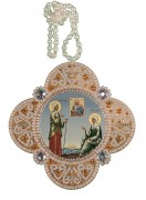 Набор для изготовления подвески Св. Матрона Московская и Ксения Петербуржская