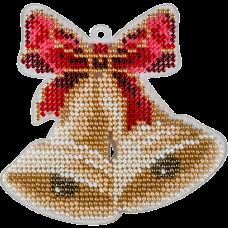 Набор для вышивки бисером на пластиковой основе Колокольчики Волшебная страна FLPL-049