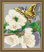 Набор для выкладки алмазной мозаикой Яблоневый цвет Триптих Часть 1
