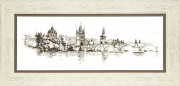Набор для вышивания крестом Crystal Art Воспоминания о Праге