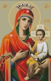 Набор для выкладки алмазной мозаикой Богородица Иверская Алмазная мозаика DM-393 - 950.00грн.