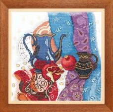 Набор для вышивания крестом Восточный натюрморт Cristal Art ВТ-139