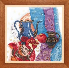 Набор для вышивания крестом Восточный натюрморт Cristal Art ВТ-139 - 228.00грн.