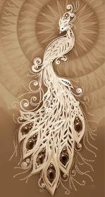 Схема вышивки бисером на габардине Жар-Птица Tela Artis (Тэла Артис) ТК-094 - 165.00грн.