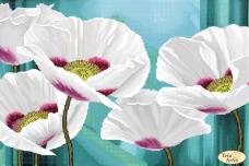 Схема для вышивки бисером на атласе Цветок ангелов Tela Artis (Тэла Артис) ТА-402