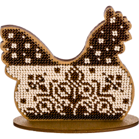 Набор для вышивки бисером по дереву Курочка Волшебная страна FLK-263 - 144.00грн.