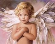 Набор для выкладки алмазной мозаикой Голубоглазый ангел