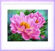 Схемы для вышивания бисером на авторской канве Чайная роза