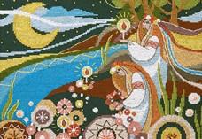 Набор для вышивания крестом Купальская ночь Cristal Art ВТ-239