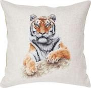 Набор подушки для вышивки крестом Тигр
