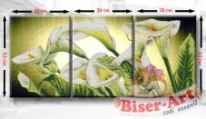 Схема для вышивки бисером Триптих Кали Biser-Art ТМ2