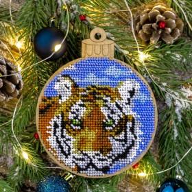 Набор для вышивки бисером по дереву Тигр Волшебная страна FLK-401 - 193.00грн.