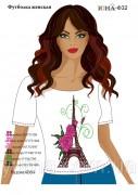 Женская футболка для вышивки бисером Ф 32