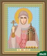 Рисунок на ткани для вышивки бисером Святая Ольга