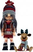Набор для шитья куклы и мягкой игрушки Девочка с лосиком