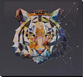 Набор для вышивки бисером Созвездие тигра