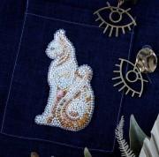 Набір для вишивання бісером прикраси Баст