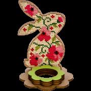 Набор для вышивки бисером по дереву Кролик