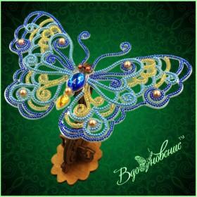 Набор для вышивки бисером Ажурная бабочка 3D 086 Вдохновение BGP-086 - 169.00грн.